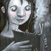Concursos literarios ¿a quién benefician?. Ilustración de Pilar Dueñas