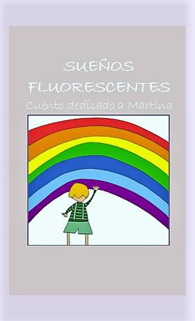 Esta es la portada de uno de los cuentos de Cristina G. Montero y su Disparate.