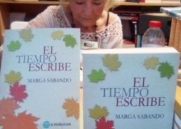 El tiempo escribe de Marga Sabando